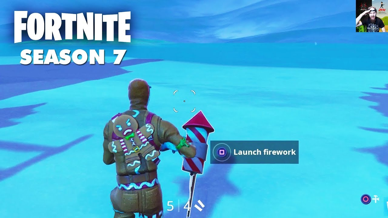 Launch 3 Fireworks X 4 Stormwing Locations Fortnite Season 7