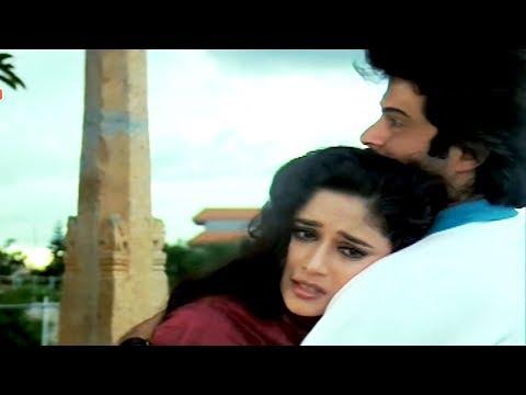 Madhuri Dixit, Anupam Kher, Anil Kapoor, Tezaab - Scene 12/20 (k)