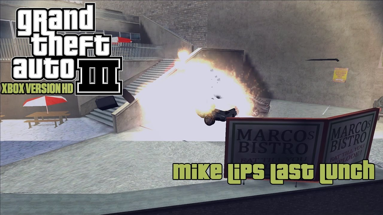 Grand Theft Auto 3 Mike Lips Last Lunch | Lipstutorial org