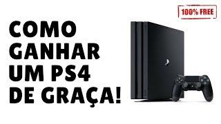 Como ganhar um PS4 de graça (funciona mesmo)