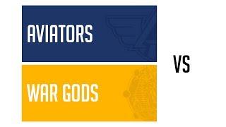 Game 10 · Aviators vs War Gods