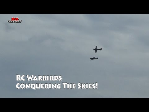 RC Warbirds dogfight and soaring the skies at Tuas!