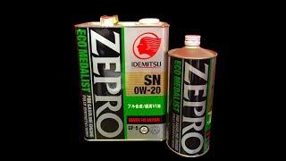 Motor oil IDEMITSU ZEPRO ECO MEDALIST 0W20 SN/GF 5
