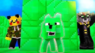 EMERALD HUND TROLL | HIDE AND SEEK in MINECRAFT