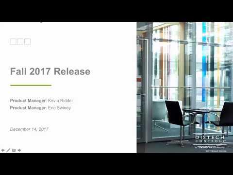 Fall 2017 Release Webinar