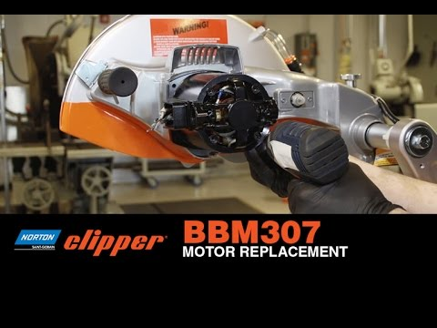 how to replace motor on a norton clipper bbm307