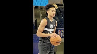 Tre Mann Pro Day at the NBA Combine in Chicago