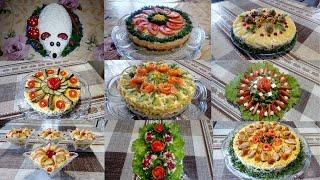 25 Красивых Праздничных Салатов которые Украсят Ваш НОВОГОДНИЙ СТОЛ !!!