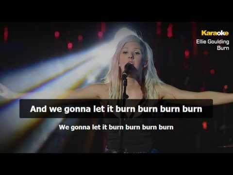 Ellie Goulding - Burn (Instrumental - Karaoke Version)