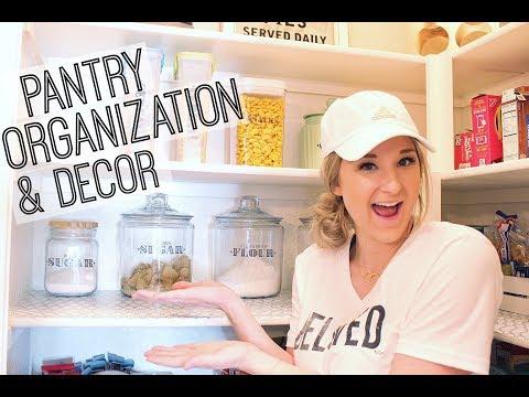 PANTRY ORGANIZATION IDEAS | FARMHOUSE INSPIRATION | ON A BUDGET