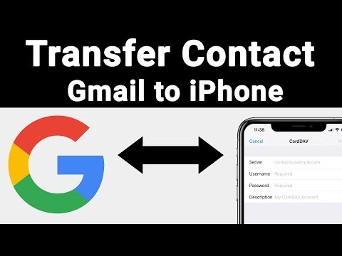 How To Transfer Android Or Gmail Contacts To IPhone | Techie Prashant | HINDI