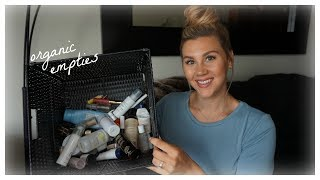 TONS of Empties! (Non-Toxic & Organic)