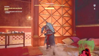 Ps4 assassin creed origins figthing the pharaohs god
