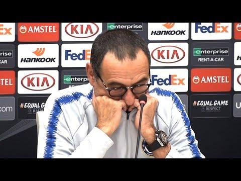 Maurizio Sarri Full Pre-Match Press Conference - BATE Borisov v Chelsea - Europa League