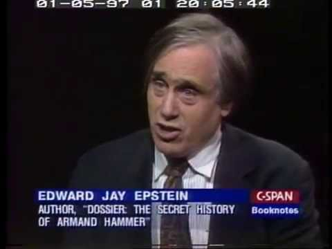Interview with Edward Jay Epstein about his book on Armand Hammer