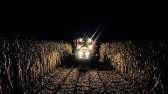 Harvesting No-Till Corn