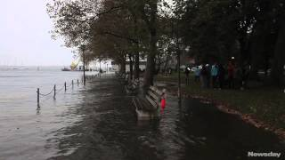 High tide hits Northport village
