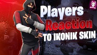 Fortnite Players React To Ikonik Skin & Scenario Emote