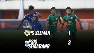 [Pekan 9] Cuplikan Pertandingan PS Sleman vs PSIS Semarang, 17 Juli 2019