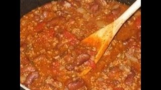 World Championship Texas Chili Recipe