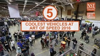 The 5 coolest vehicles at Art Of Speed 2016