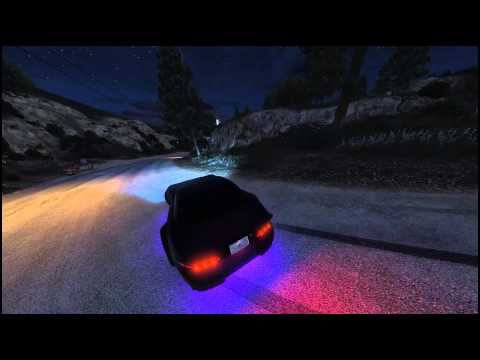 Grand Theft Auto V - Drifting in the Vinewood Hills