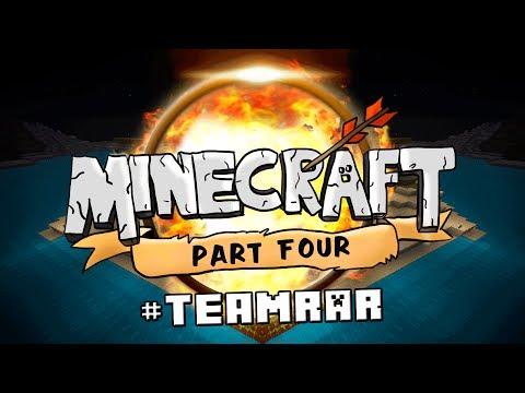Ahhh! GET AWAY BAILEY!  (Minecraft - #TeamRAR Survival #4)
