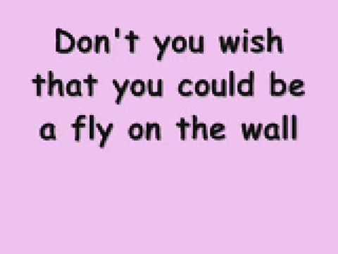 Miley Cyrus - Fly On The Wall (lyrics)