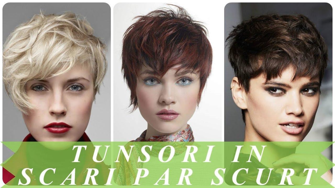 Modele De Tunsori In Scari Par Scurt 2018 Youtube