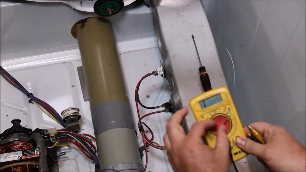 Testing the Heating Element of a dryer