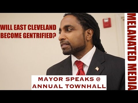 Mayor of East Cleveland gives plan to revive the city @ Townhall