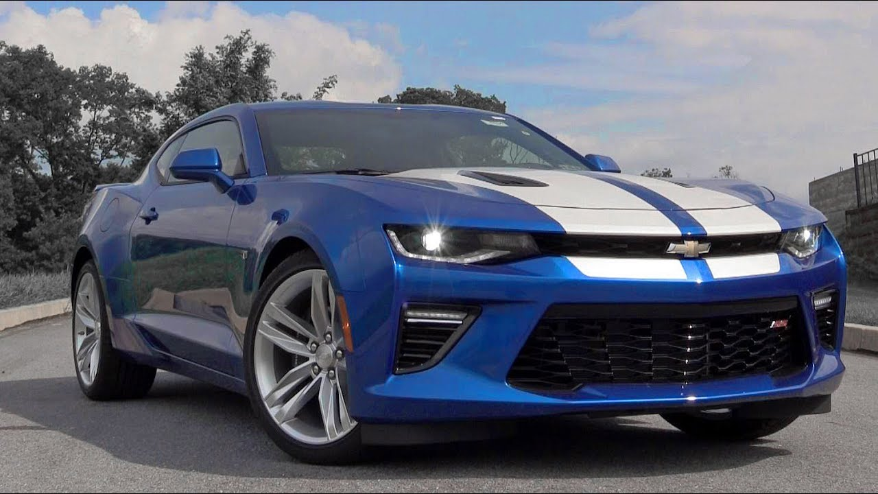 2018 Chevrolet Camaro Ss Review Youtube