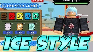 HO STILE ICE IN NINDO RPG: DI LÀ | Roblox