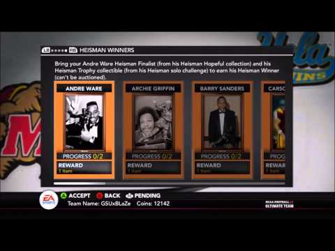 NFUT 14 EP 1:ARCHIE GRIFFIN Heisman Collection DONE+ Upgrading MyTeam