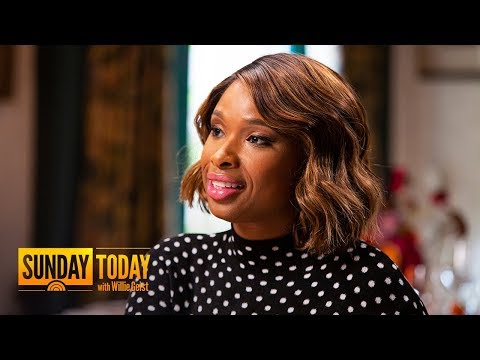 How 'Cats' Star Jennifer Hudson's Life Was Shaped By Music | Sunday TODAY