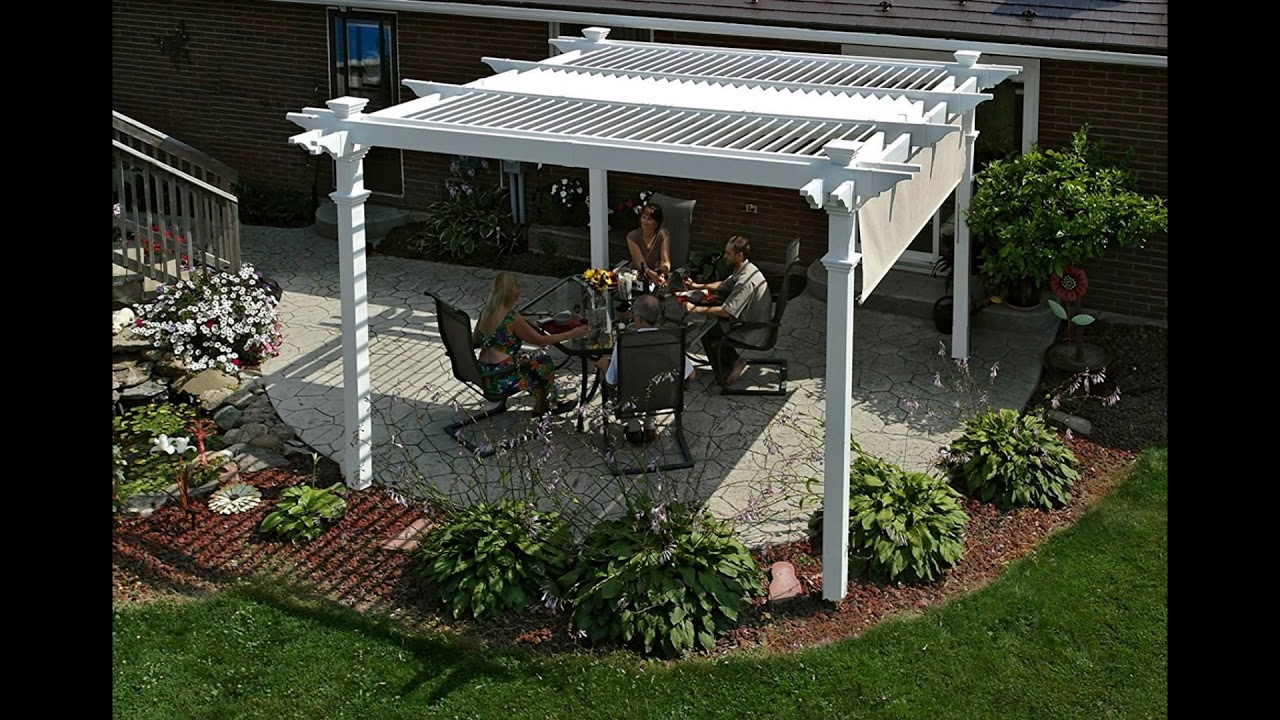 Louvered Pergolas Review Adjustable Louvered Vinyl