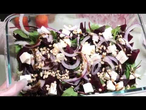 Салат из свёклы. Оригинальный салат из свёклы.