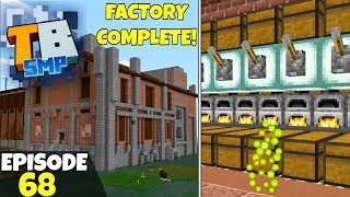 Truly Bedrock Episode 68! MEGA FACTORY COMPLETE! Minecraft Bedrock Survival Let's Play!