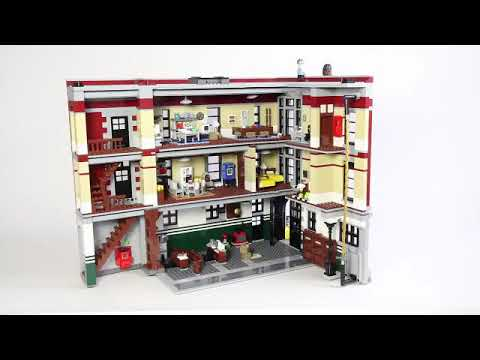 Ghostbusters Firehouse Headquarters 75827 Compatible 16001 Review