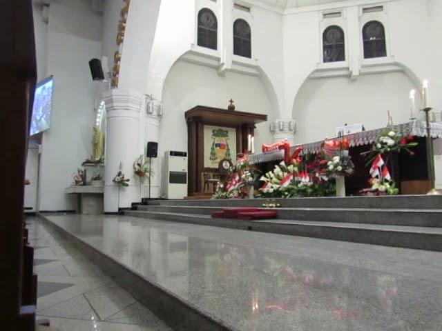 Gereja Santa Perawan Maria Ratu Rosario Suci Randusari Katedral Semarang Destimap Destinations On Map