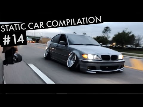 Slammed Static Car Compilation #14