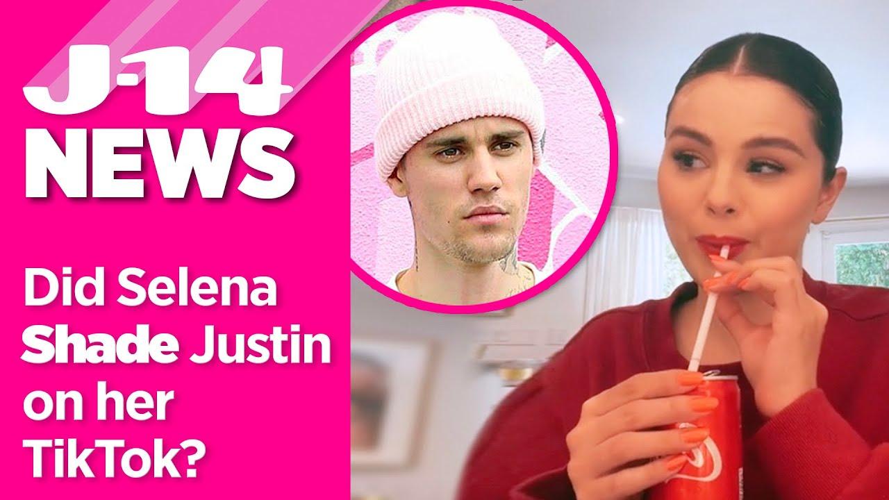 Fans Think Selena Gomez Shaded Justin Bieber on Her TikTok