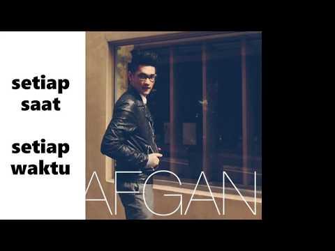Lirik Afgan Betapa Aku Cinta padamu