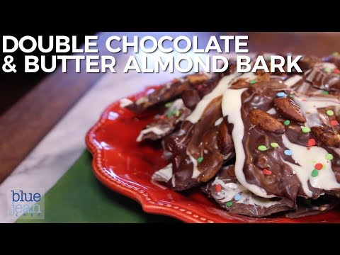 Double Chocolate And  Butter Almond Bark