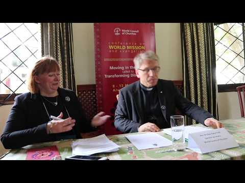 WCC press conference: Opening of CWME, Conference on World Mission and Evangelism