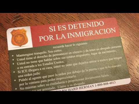 Immigration law firm holds 'Know Your Rights' workshop at Painesville library