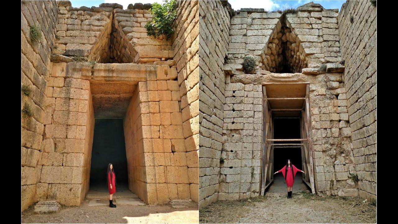 ΜΥΚΗΝΕΣ ~ Η Πολύχρυση  Αρχαία Πόλη - ANCIENT MYCENAE GREECE