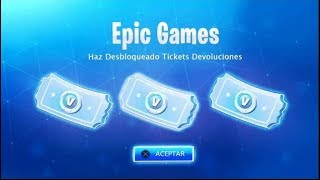 New! How to get RETURN TICKETS in FORTNITE! 😱✅ *HAVE INFINITE TICKETS!*