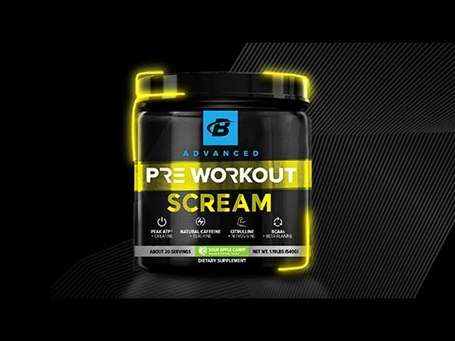 Scream Pre Workout Giveaway | Brain Gainz