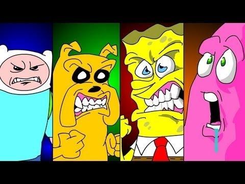 Spongebob & Patrick Vs Finn & Jake | UCF Round 1